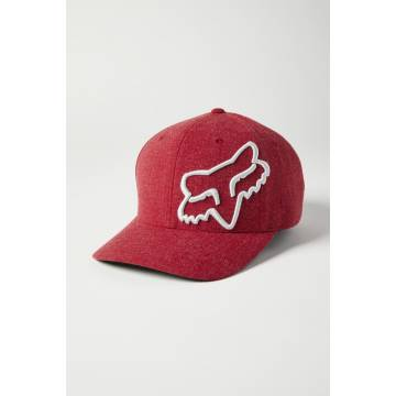 FOX Cap Clouded 2.0 | Flexfit | rot | 27089-555