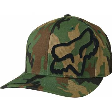 FOX Cap Flex 45 | Flexfit | grün camo | 58379-027