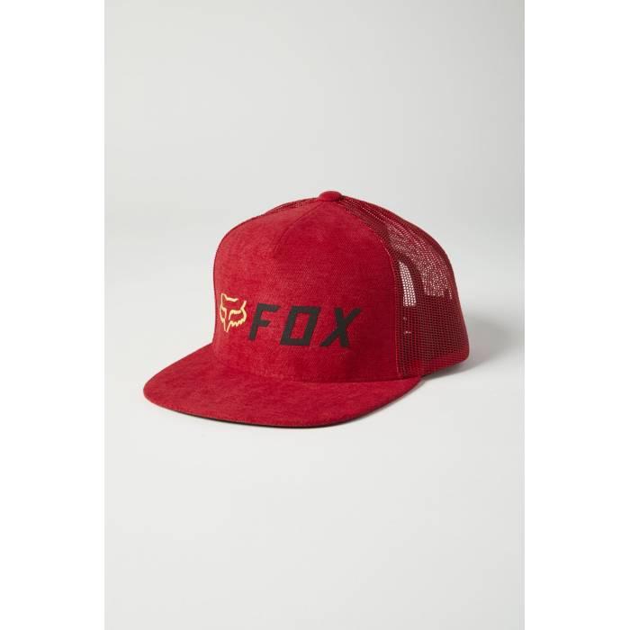 FOX Cap Apex | Snapback | rot | 26047-055