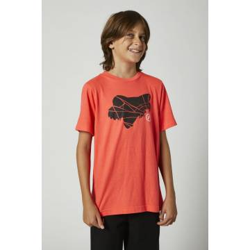 FOX Kinder T-Shirt Shattered | neon orange | 27203-050