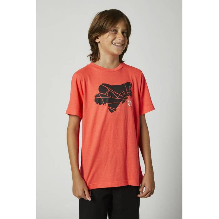 FOX Kinder T-Shirt Shattered | neon orange | 27203-050