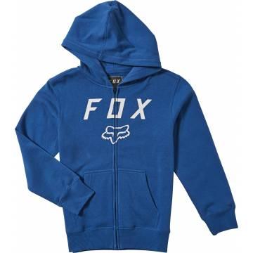 FOX Kinder Zip Hoodie Legacy Moth | blau | 20722-159