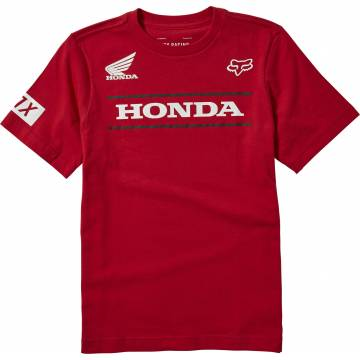 FOX Kinder T-Shirt Honda | rot | 25909-555