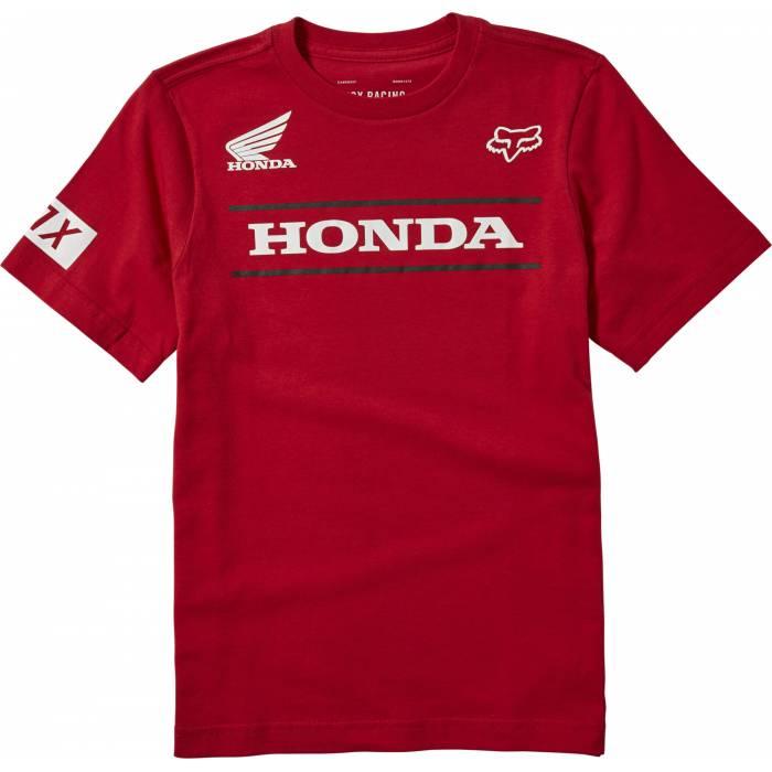 FOX Kinder T-Shirt Honda | rot | 25909-555