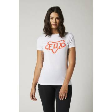 FOX Damen T-Shirt Division Tech | weiß | 27168-008