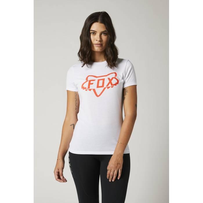 FOX Damen T-Shirt Division Tech | weiß | 27168-008