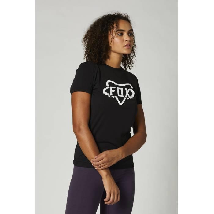 FOX Damen T-Shirt Division Tech | schwarz | 27168-001