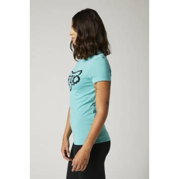 FOX Damen T-Shirt Division Tech | hellblau | 27168-176 Seitenansicht