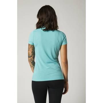 FOX Damen T-Shirt Division Tech | hellblau | 27168-176 Ansicht Rückseite