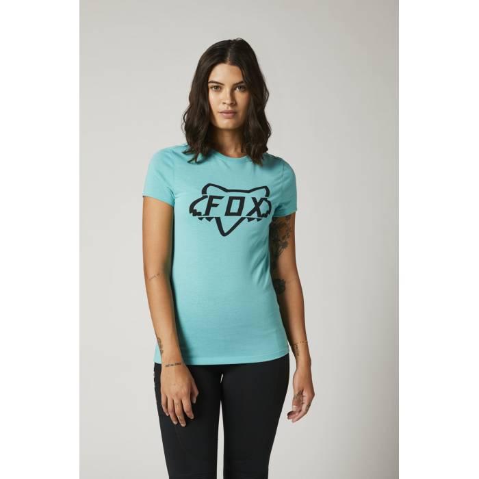 FOX Damen T-Shirt Division Tech | hellblau | 27168-176