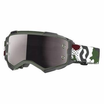 SCOTT Brille Fury | dunkelgrün weiß | 272828-7081269