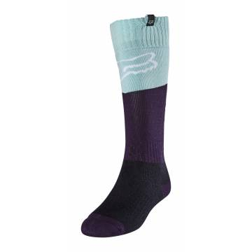 FOX Damen MX Socken Revn   hellblau schwarz   25903-246
