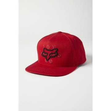 FOX Cap Top Coat | Snapback | rot | 27082-555