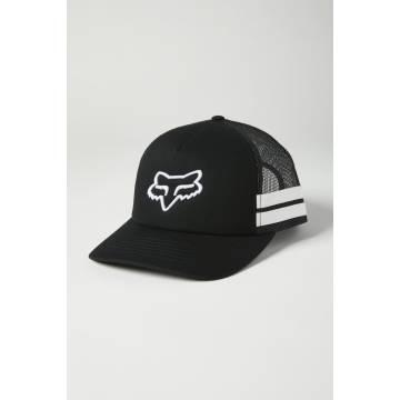 FOX Damen Cap Boundary Trucker | Snapback | schwarz weiß | 26594-018