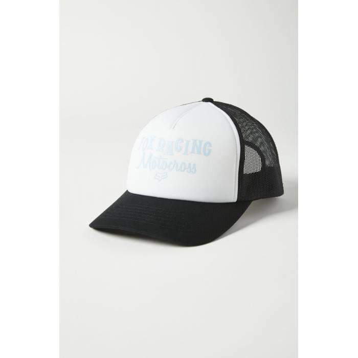 FOX Damen Cap Moto Inn Trucker | Snapback | weiß schwarz | 27077-271