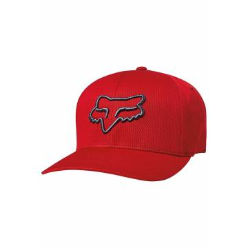 FOX Cap Lithotype | Flexfit | dunkelrot | 21976-179
