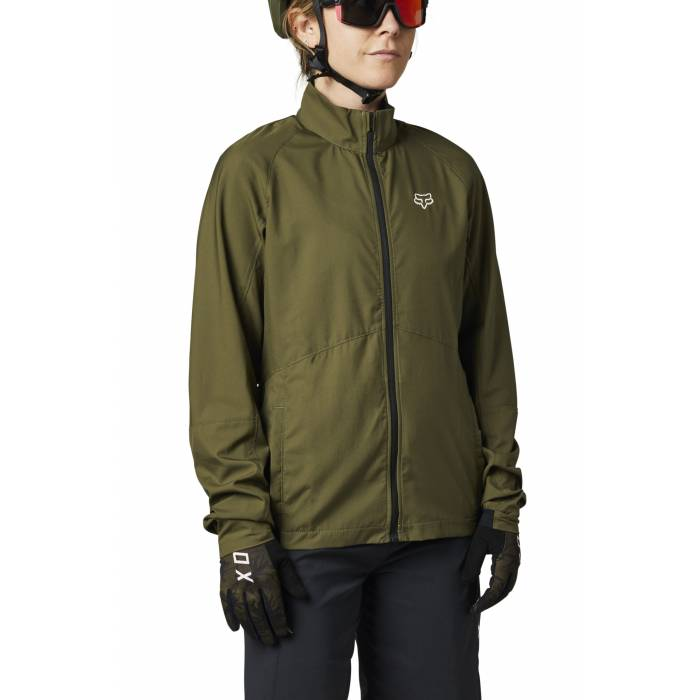 FOX MTB Damen Windbreaker Ranger | olivgrün | 27403-099