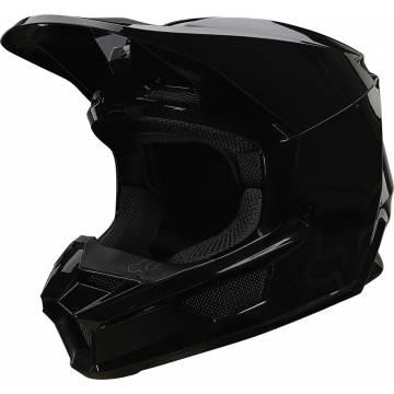 FOX V1 Motocross Helm Plaic | schwarz | 26575-001