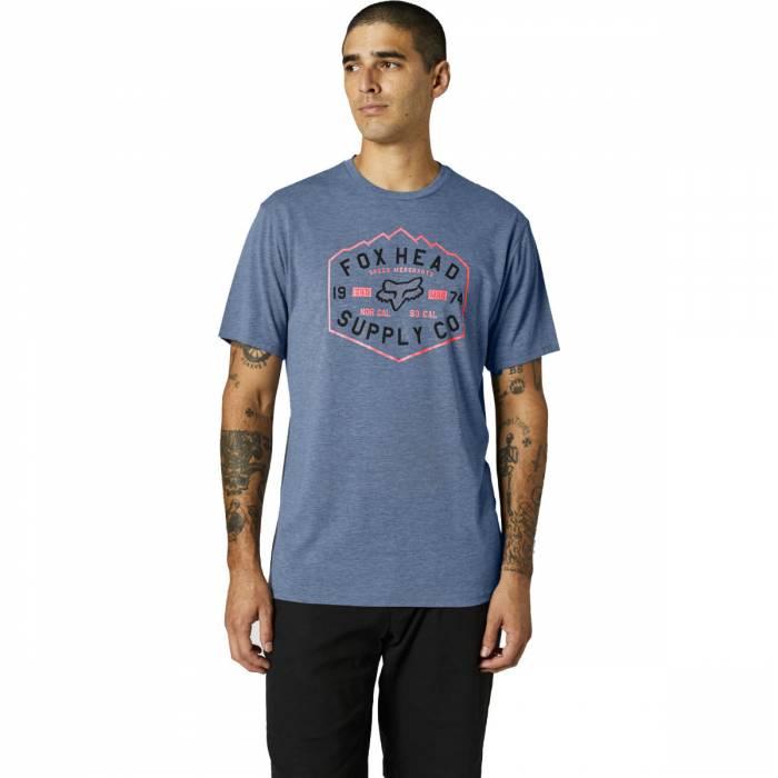 FOX Tech T-Shirt Backbone   dunkelblau   26974-034