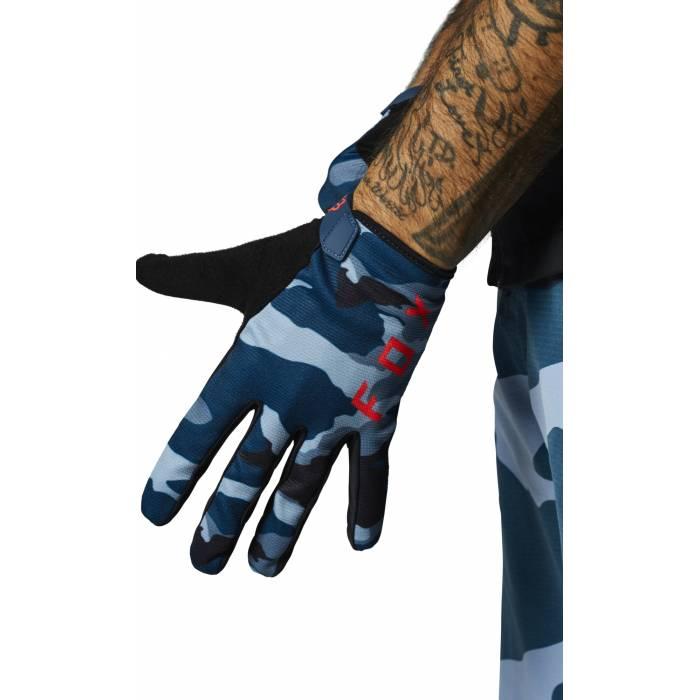 FOX MTB Handschuhe Ranger | blau camo | 27172-360