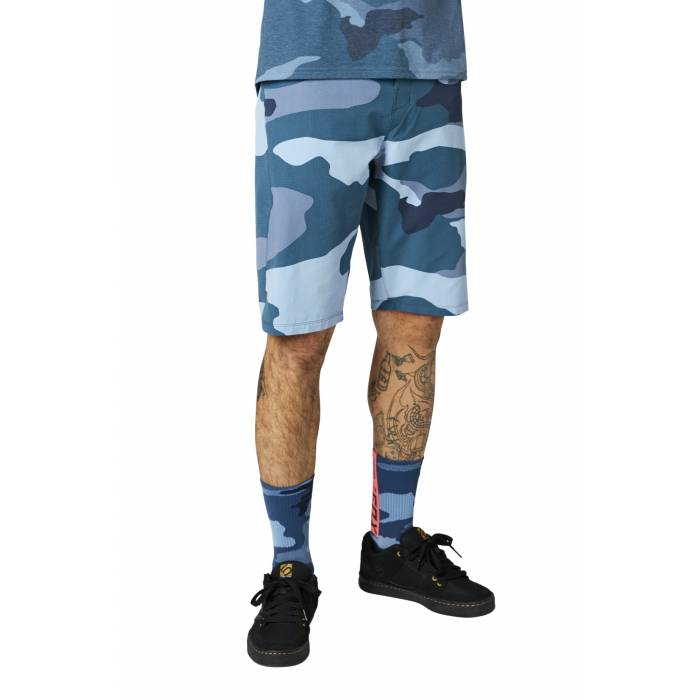 FOX MTB Hose Ranger | kurz | blau camo | 27280-360