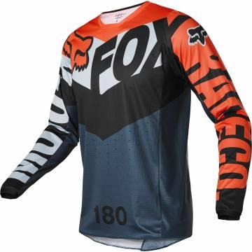 FOX 180 Jersey Trice | grau orange | 26728-230