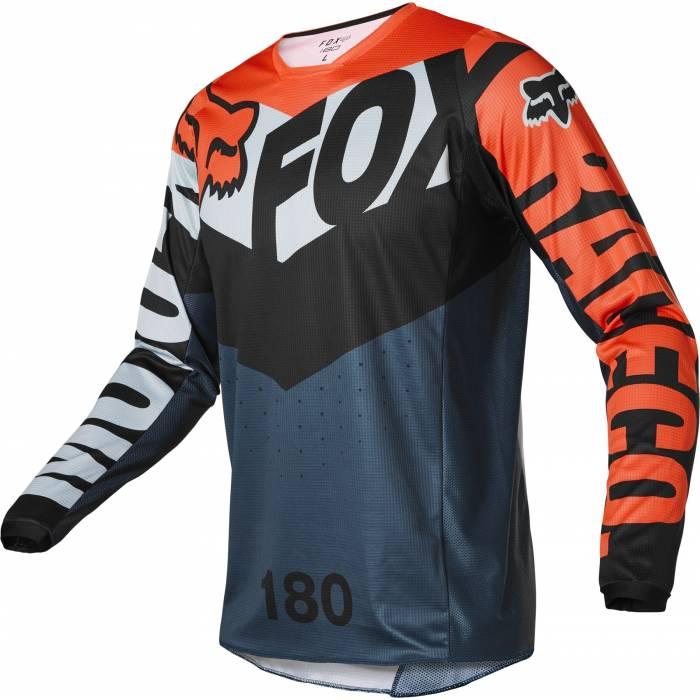 FOX 180 Jersey Trice   grau orange   26728-230
