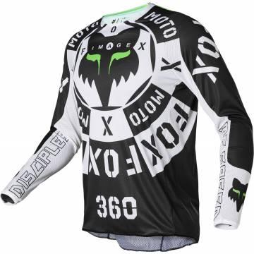 FOX 360 Jersey Nobyl | schwarz weiß | 28140-018
