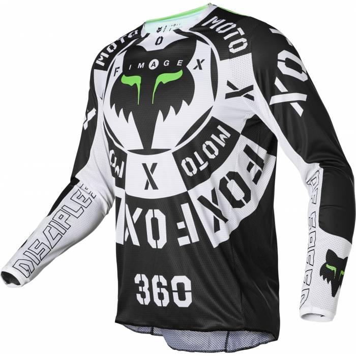 FOX 360 Jersey Nobyl   schwarz weiß   28140-018