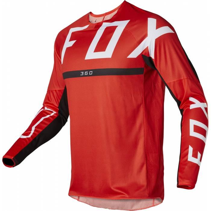 FOX 360 Jersey Merz   rot   28136-110