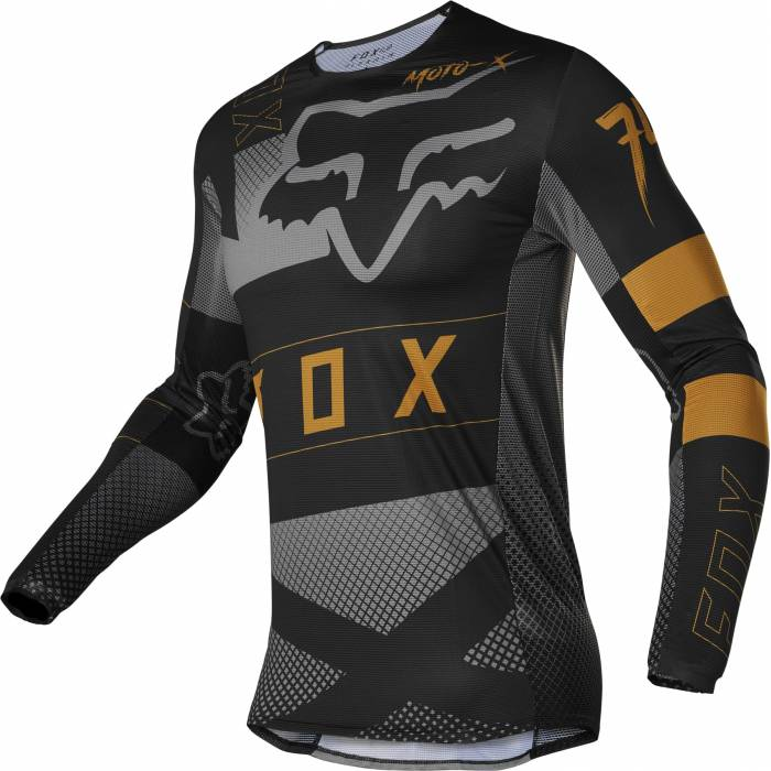 FOX Flexair Jersey Riet   schwarz   28130-001
