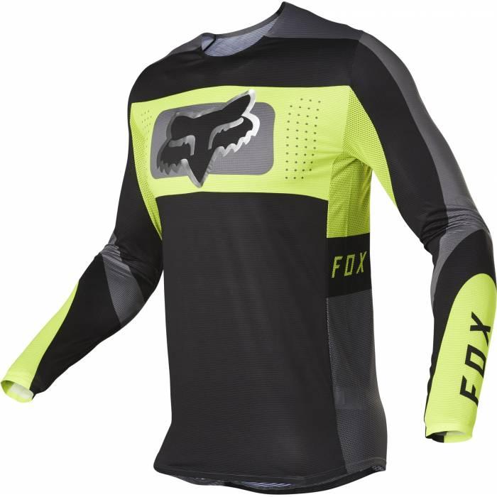 FOX Flexair Jersey Mirer   schwarz neongelb   28128-019