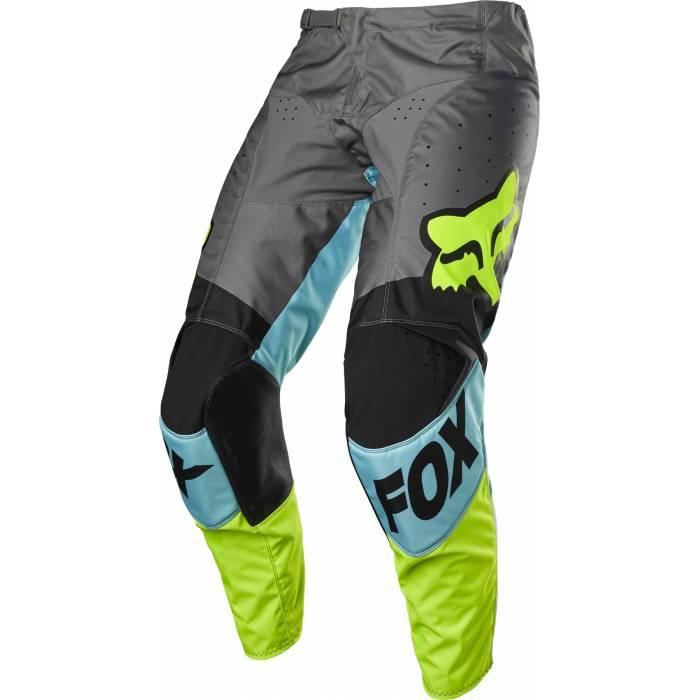 FOX 180 Motocross Hose Trice | blau grau | 26753-176