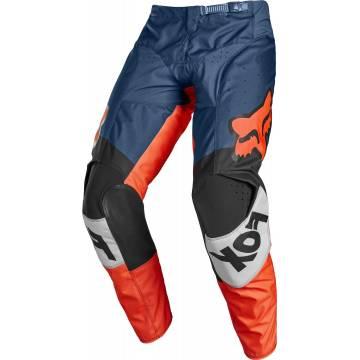 FOX 180 Motocross Hose Trice | grau orange | 26753-230