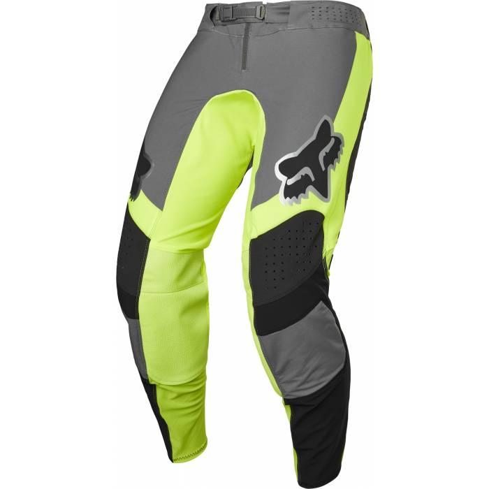 FOX Flexair Motocross Hose Mirer | grau neongelb | 28129-019