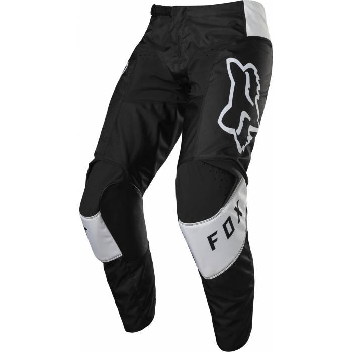 FOX 180 Kinder Motocross Hose Lux | schwarz weiß | 28183-001