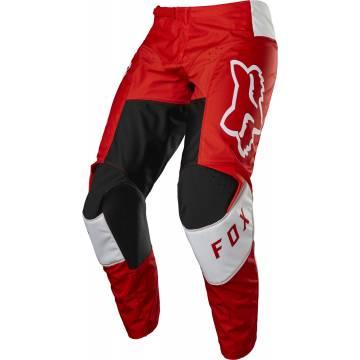 FOX 180 Kinder Motocross Hose Lux | rot weiß | 28183-110