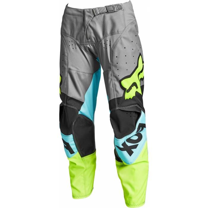 FOX 180 Kinder Motocross Hose Trice | grau blau | 26755-176