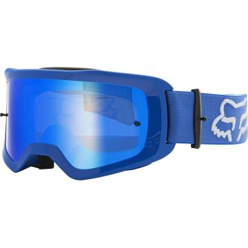 FOX MTB/MX Brille Main Stray | blau | 25836-002-OS