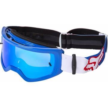 FOX MTB/MX Brille Main Skew | blau weiß rot | 28062-574-OS