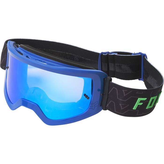 FOX MTB/MX Brille Main Peril | schwarz blau | 28064-002-OS