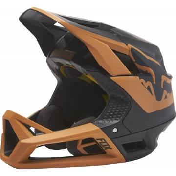 FOX Proframe MTB Fullface Helm | schwarz gold | 28427-595