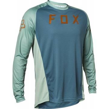 FOX MTB Jersey Defend | langarm | blau | 27292-098