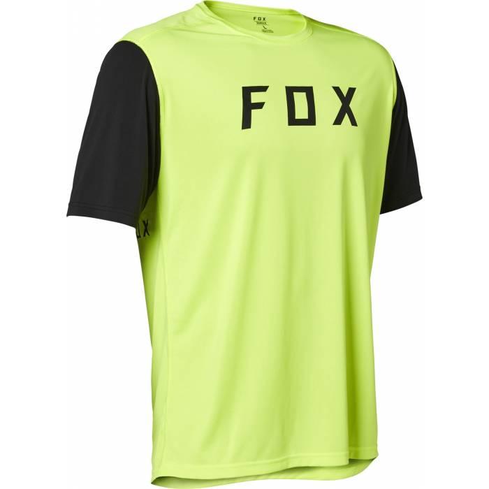 FOX MTB Jersey Ranger Fox | kurzarm | neon gelb schwarz | 27603-130