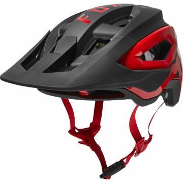FOX Speedframe Pro MTB Helm | schwarz rot | 26801-017 Größe M