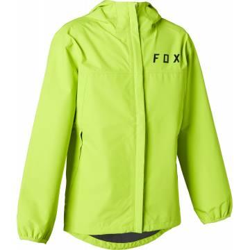 FOX Kinder MTB Regenjacke Ranger 2.5L Water | neon gelb | 27396-130