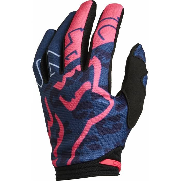 FOX Damen Handschuhe 180 Skew   dunkelblau pink   28178-203 Dark Indigo