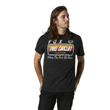 FOX Premium T-Shirt Pro Circuit | schwarz | 28327-001 Premium SS Tee