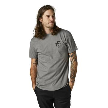 FOX Premium T-Shirt Big F | grau | 28326-185 Premium SS Tee