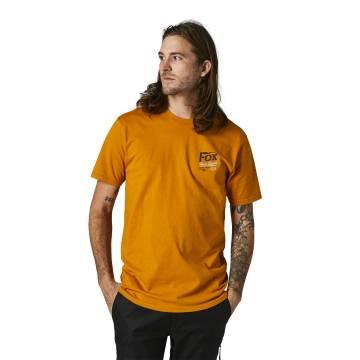 FOX Premium T-Shirt Pushin Dirt | ocker | 28324-200 Premium SS Tee